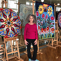Artist Tina Oppenheimer