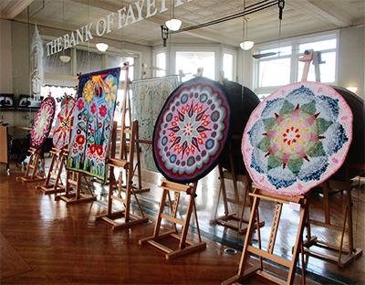 Crochet Art by Artist Tina Oppenheimer